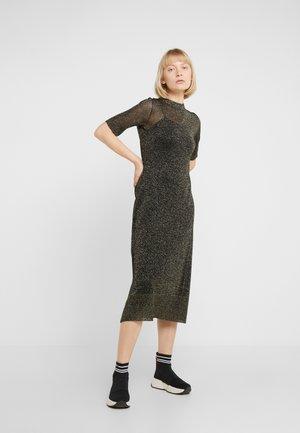 POSTA - Jumper dress - bronze