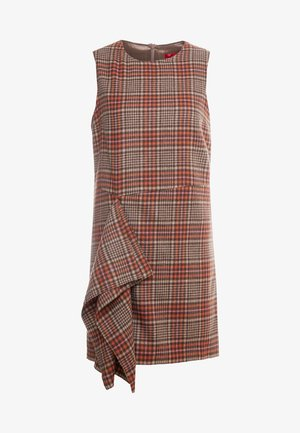 DIPINTO - Shift dress - brown