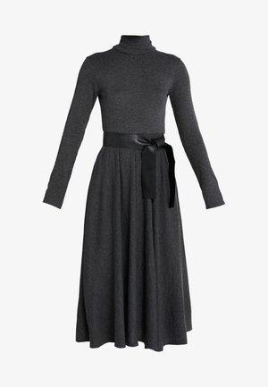 DRENARE - Strikket kjole - dark grey