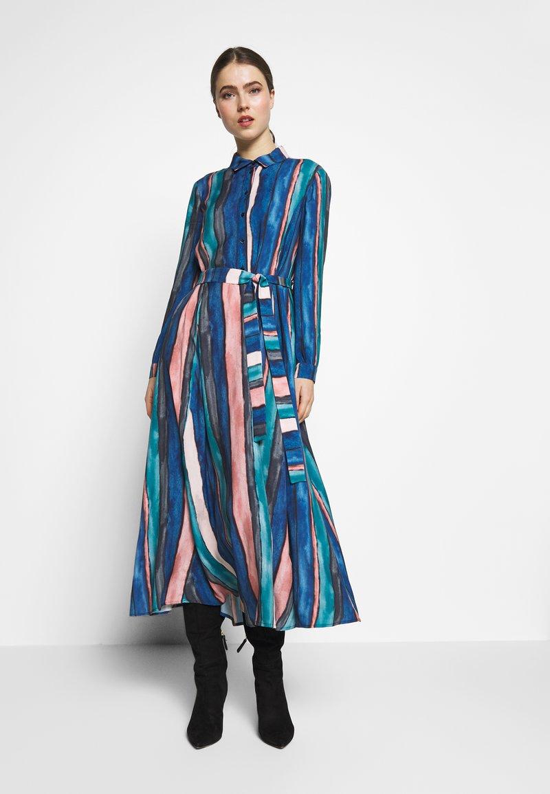 MAX&Co. - CAPSULA - Robe longue - china blue
