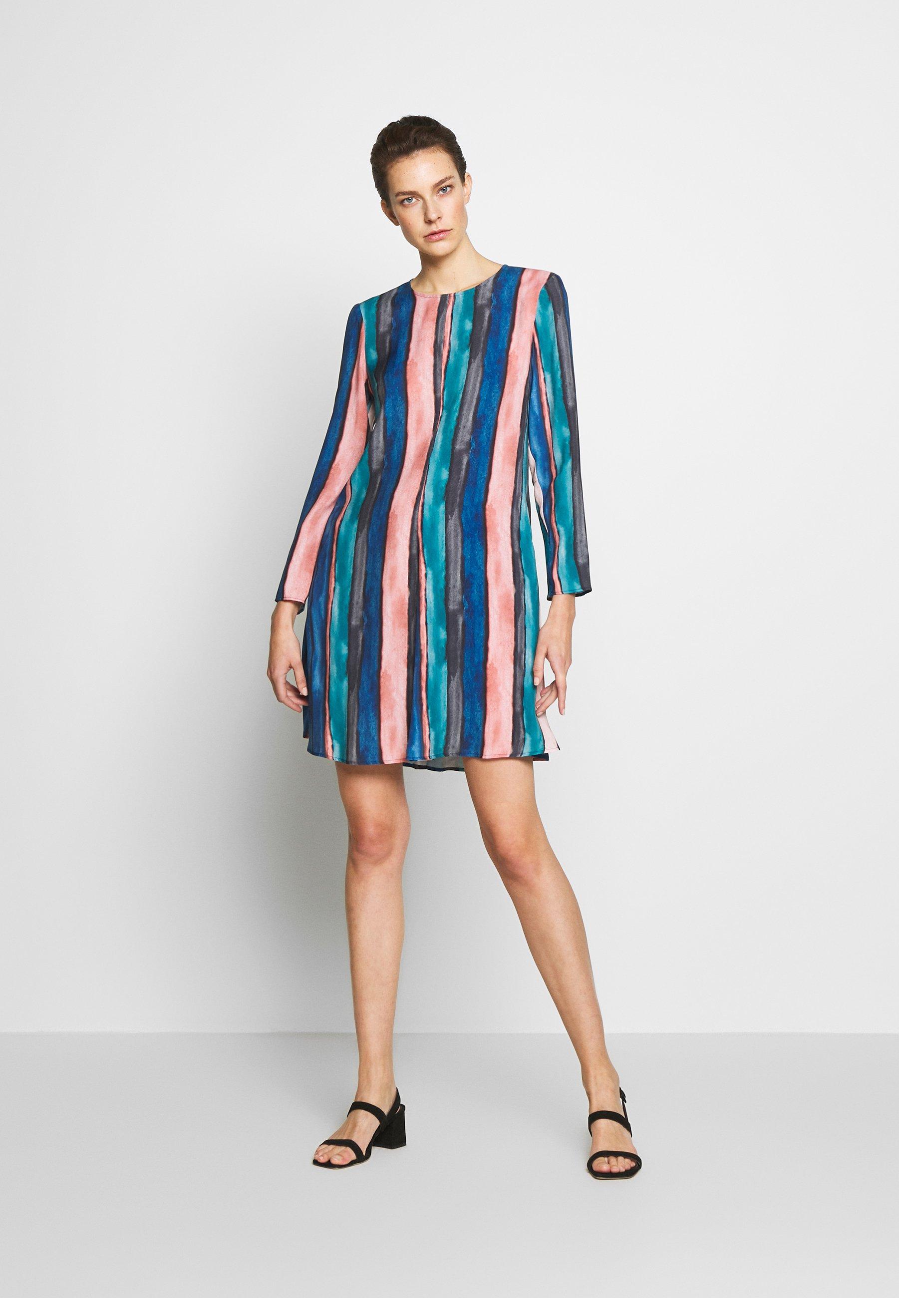 MAX&Co. CAPPERO - Vestito estivo - china blue pattern