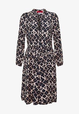 DANIELLA - Denní šaty - midnight blue pattern