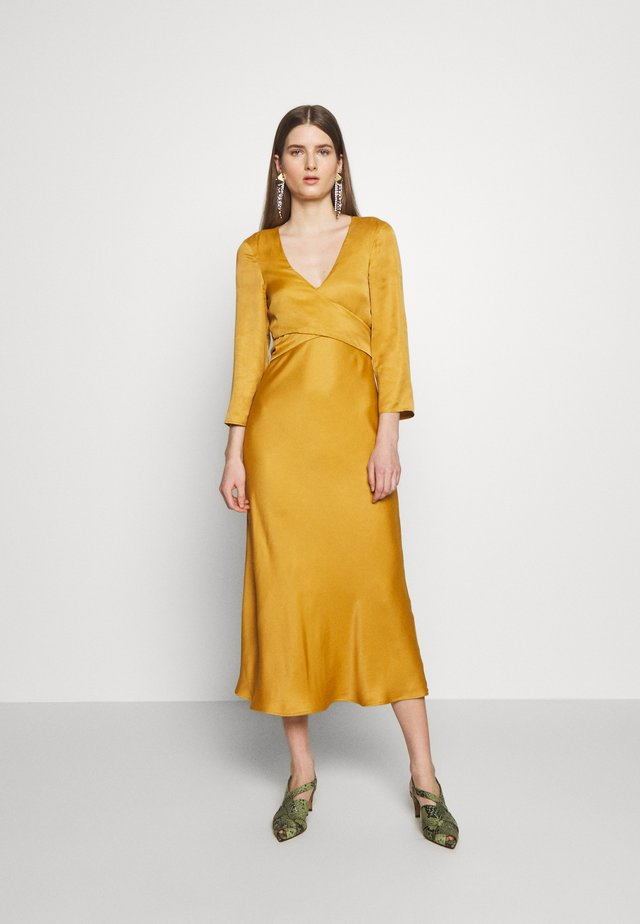PENSOSO - Cocktail dress / Party dress - mustard