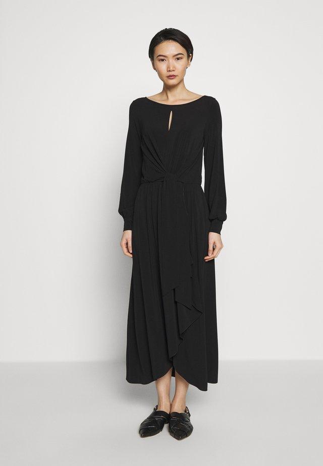 PUPILLA - Maxi dress - black