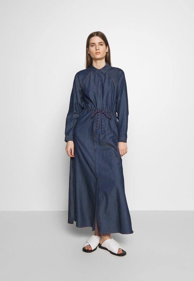 DIFESA - Maxi dress - midnight blue