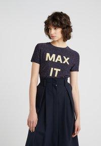 MAX&Co. - DAMIERE - T-shirt print - midnight blue - 0