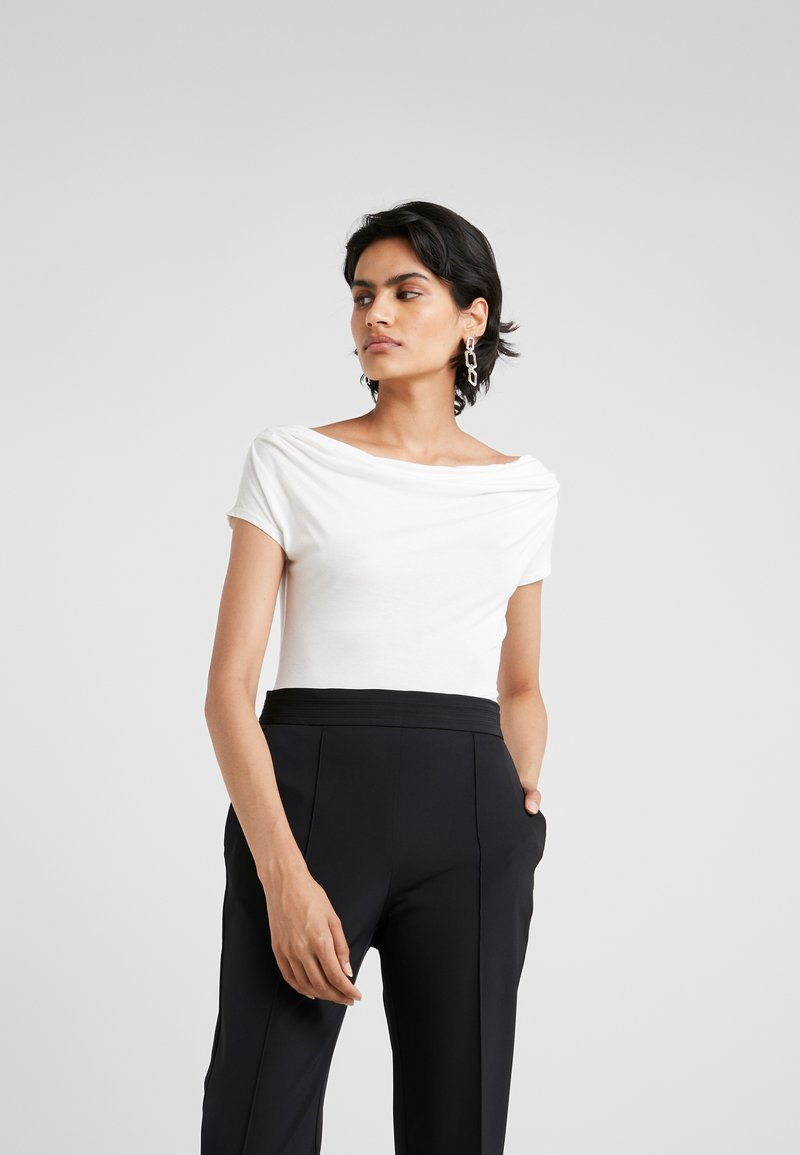 MAX&Co. - PALOMBO - Print T-shirt - off white