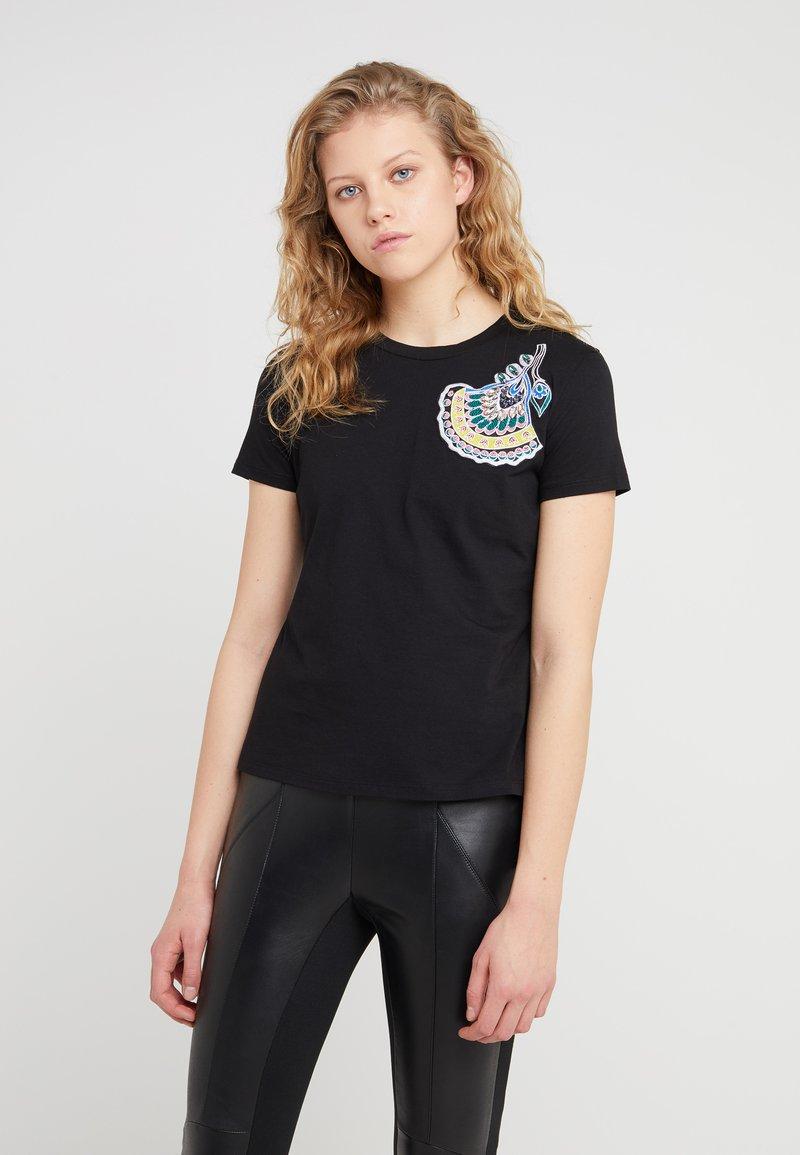MAX&Co. - DATATO - T-shirt z nadrukiem - black
