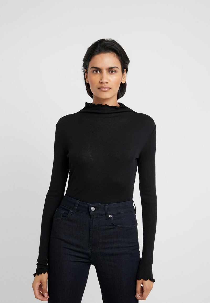 MAX&Co. - CORTESIA - Long sleeved top - black