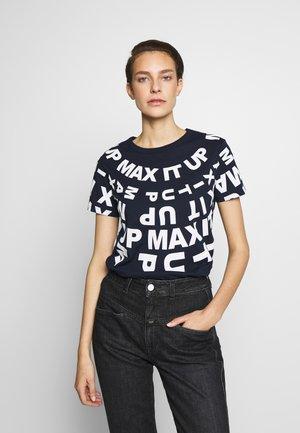 DAMASCO - Print T-shirt - midnight blue