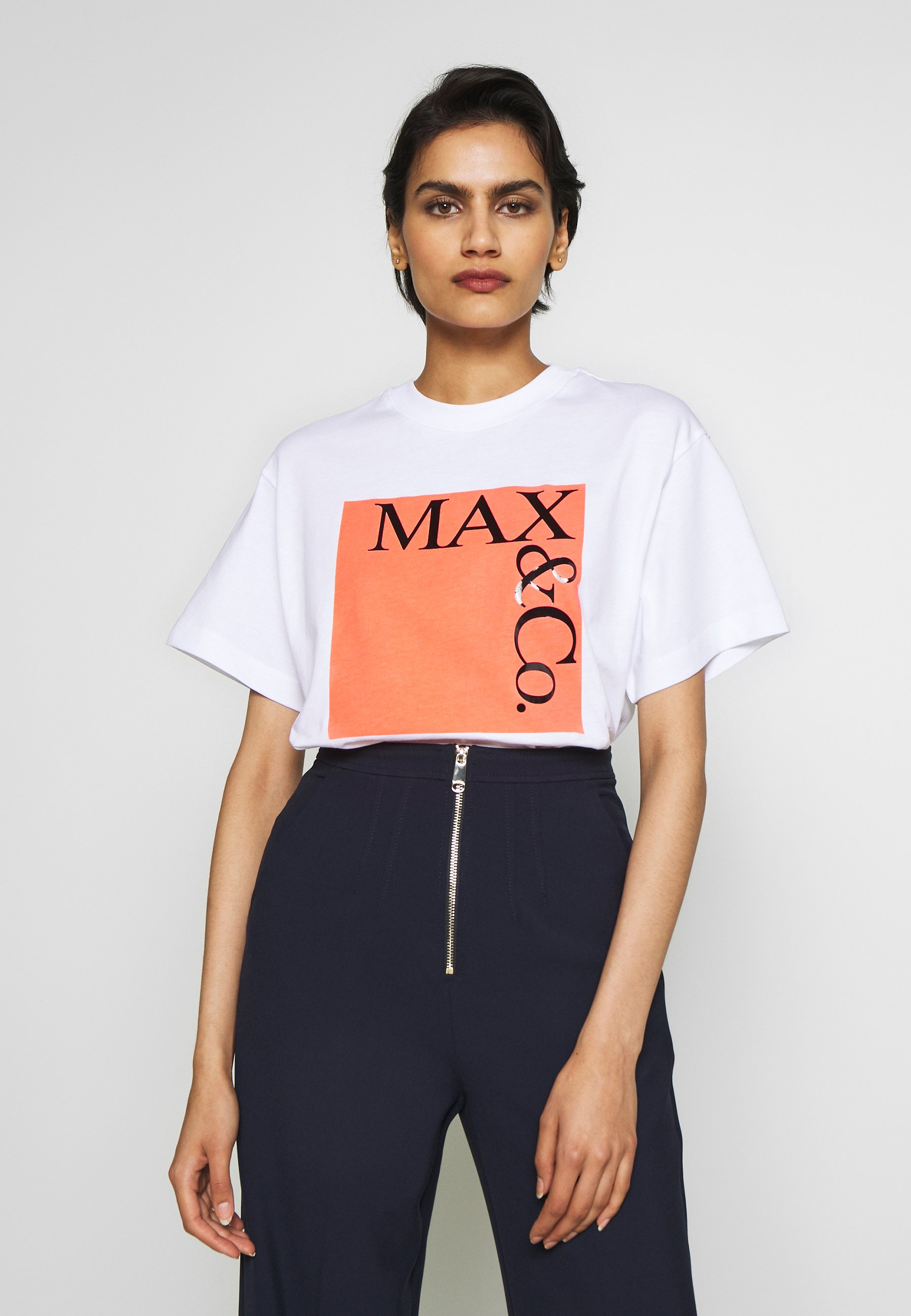 MAX&Co. TEE - T-shirts med print - rose pink