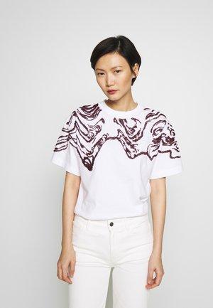 DAMINO - T-shirts print - white