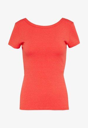 DANUBIO - T-Shirt basic - red