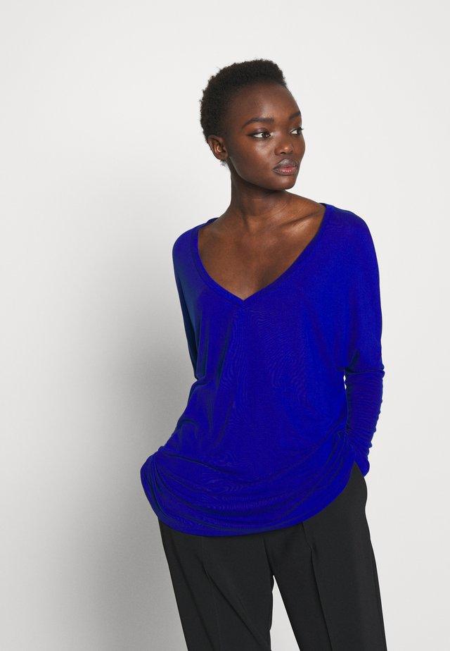 CESARE - Bluzka z długim rękawem - china blue