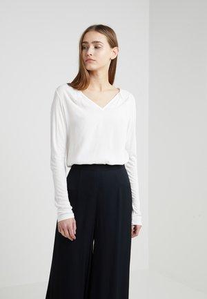 MODUGNO - T-shirt à manches longues - white
