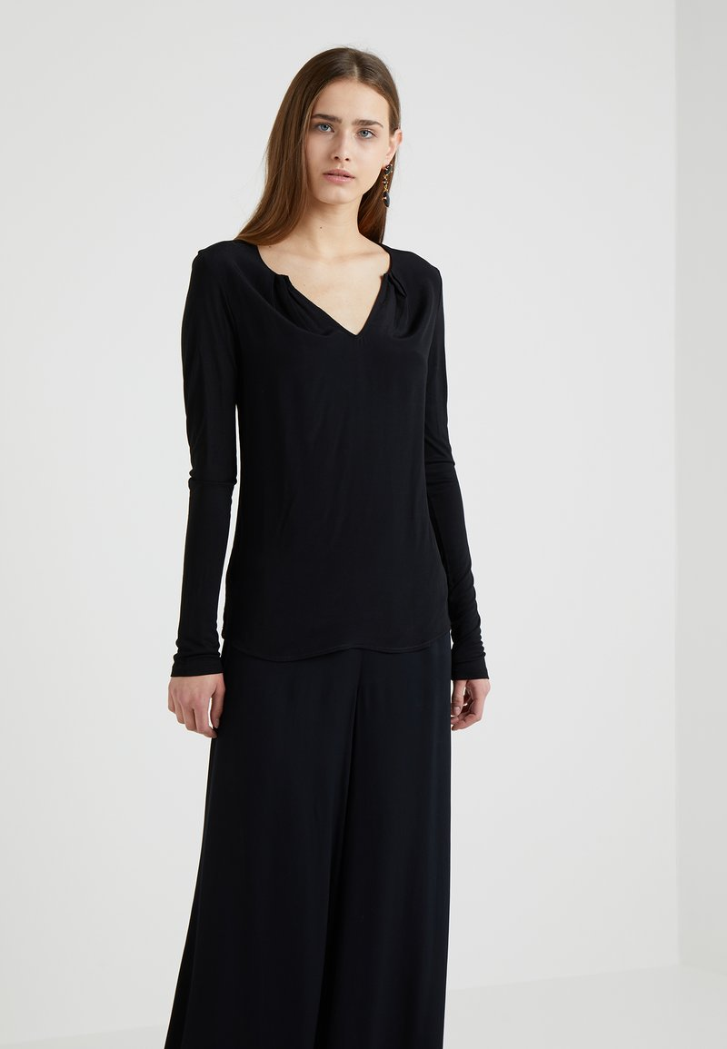 MAX&Co. - MODUGNO - Long sleeved top - black