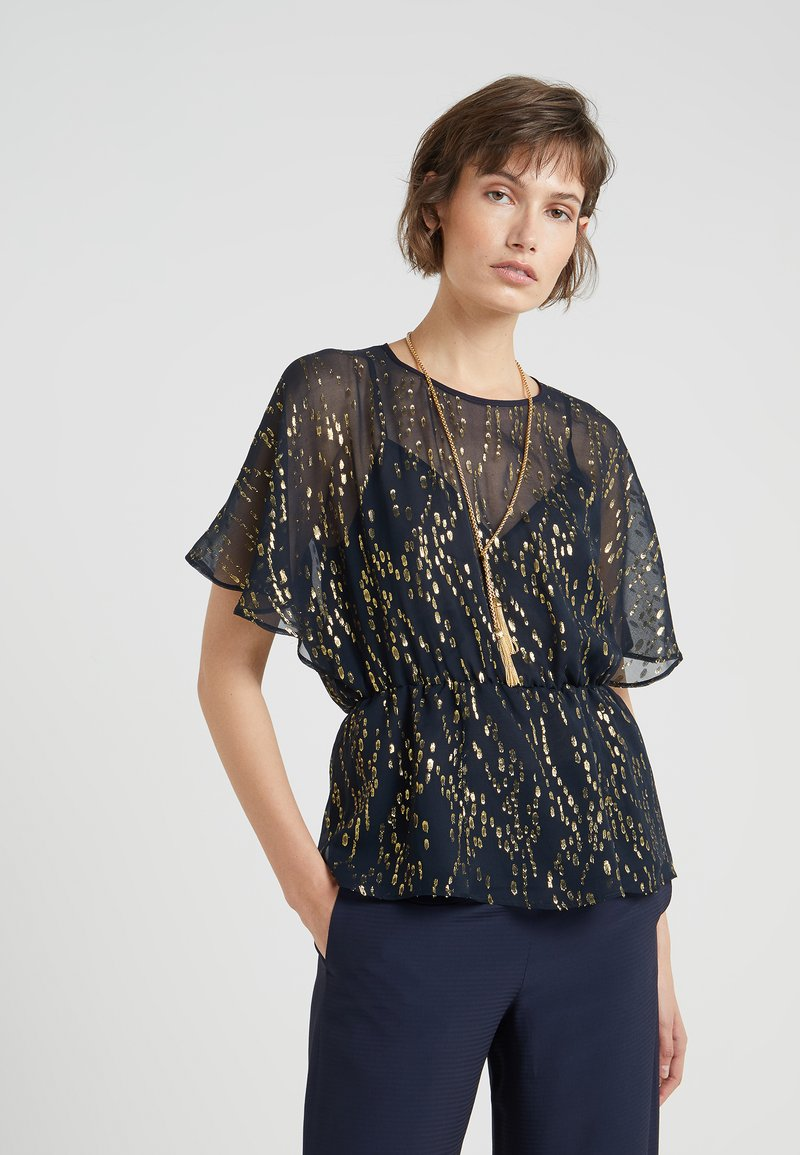 MAX&Co. - PERICOLO - Blouse - navy blue