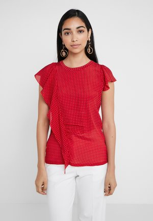 CONSENSO - Blouse - red pattern