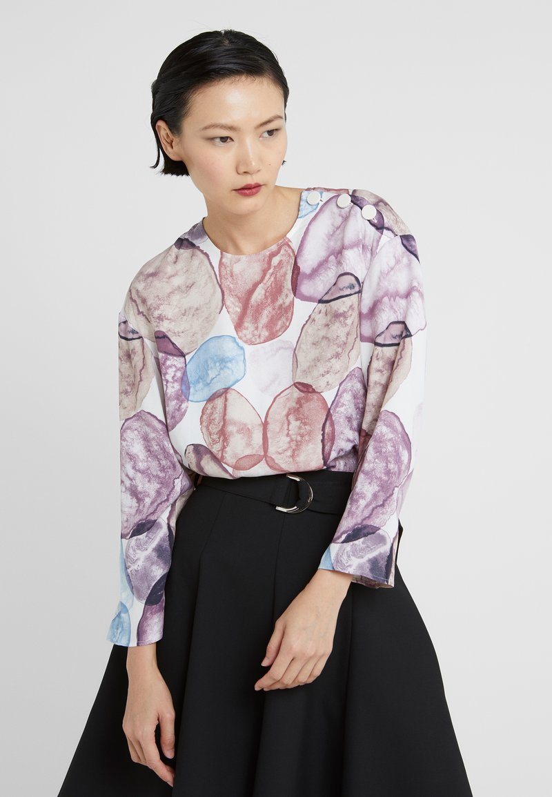 MAX&Co. - DINAMO - Bluse - white pattern