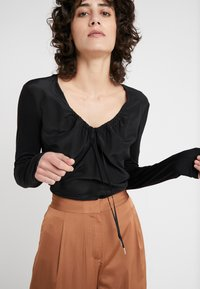 MAX&Co. - COTTAGE - Blouse - black - 3