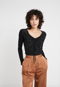 MAX&Co. - COTTAGE - Blouse - black - 0
