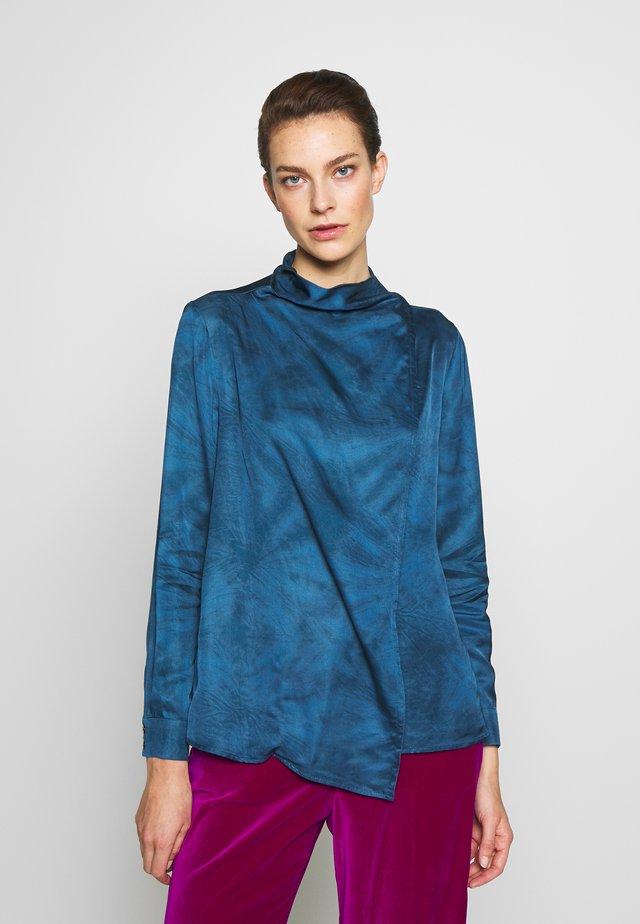 PARTE - Bluzka - china blue pattern