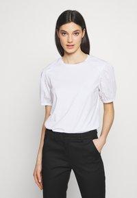 MAX&Co. - DARK - Basic T-shirt - optic white - 0