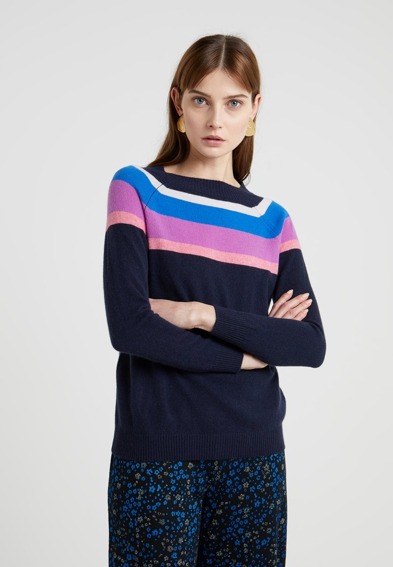 MAX&Co. - COSTANTE - Jumper - navy blue