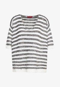 MAX&Co. - PIUMINO - Sweter - white pattern - 4