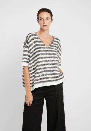 PIUMINO - Strickpullover - white pattern