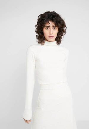 CORO - Strikkegenser - white