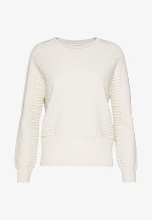 CRONACA - Sweter - white
