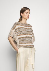 MAX&Co. - CUBISMO - Sweter - beige - 0