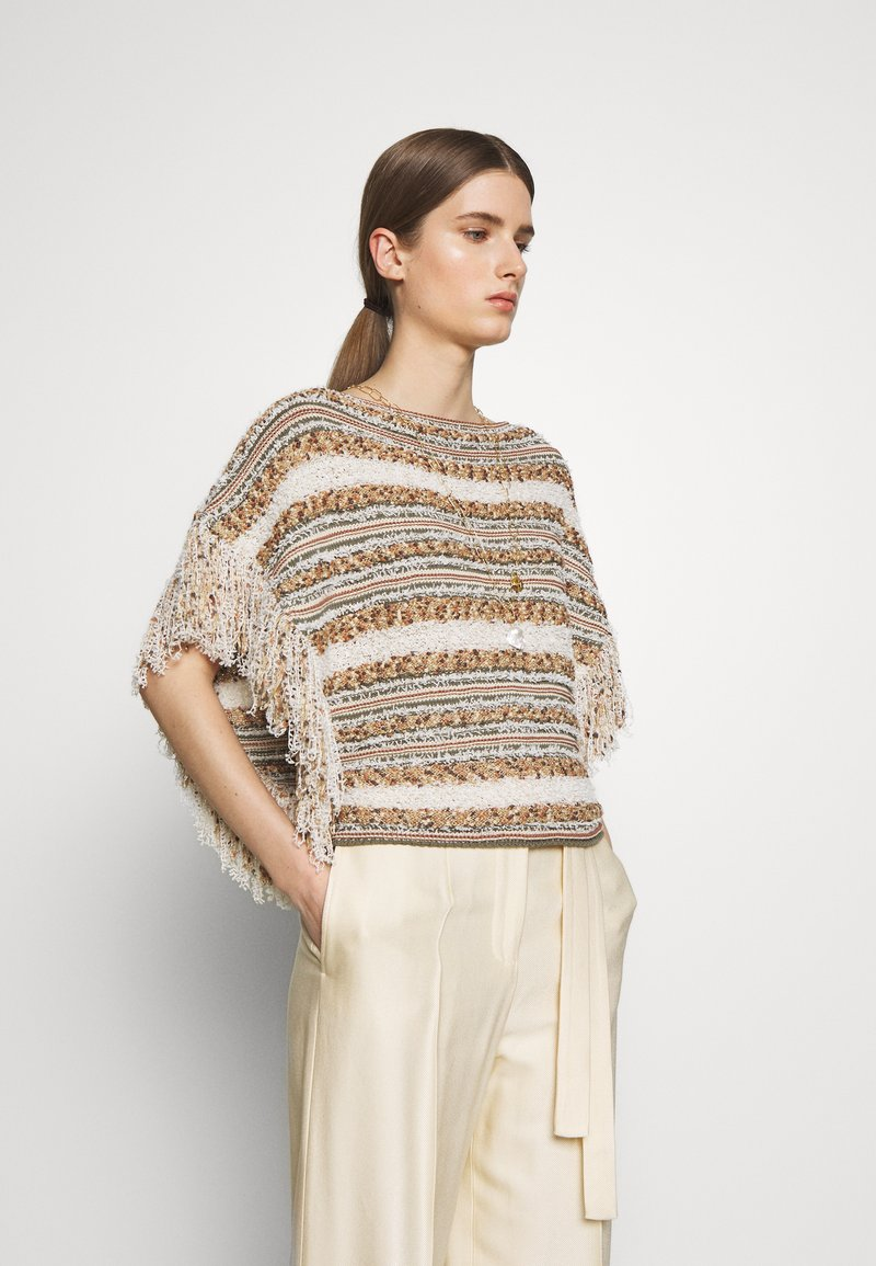 MAX&Co. - CUBISMO - Sweter - beige