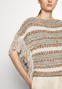 MAX&Co. - CUBISMO - Sweter - beige - 6