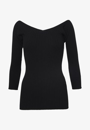 CERVINO - Jumper - black