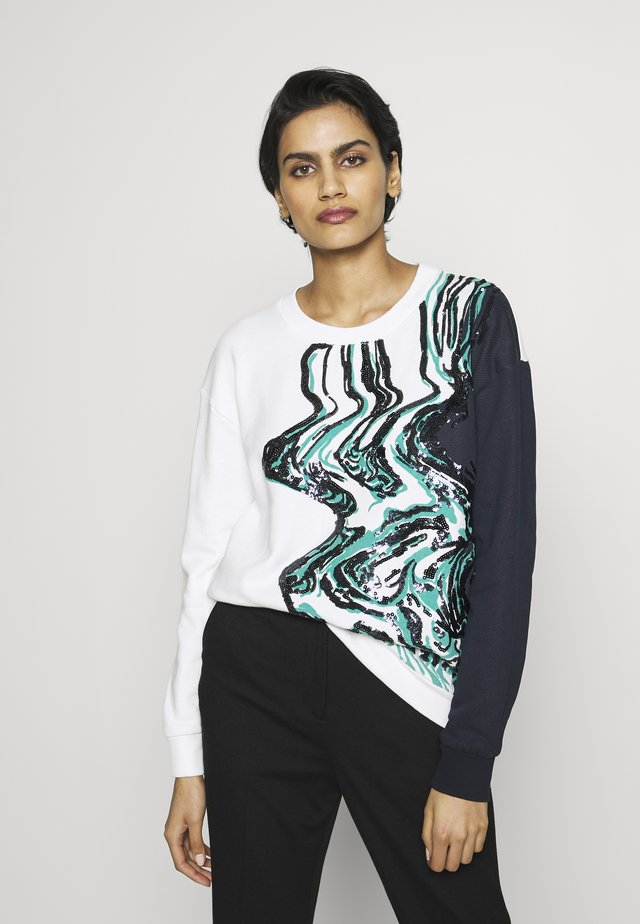 DANA - Sweatshirt - white