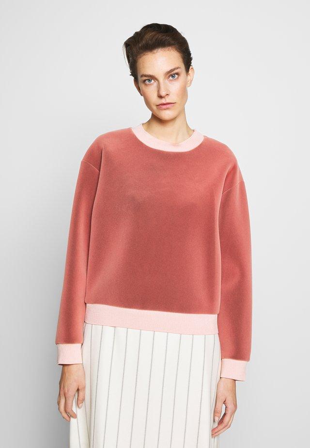 Sweatshirt - rose pink