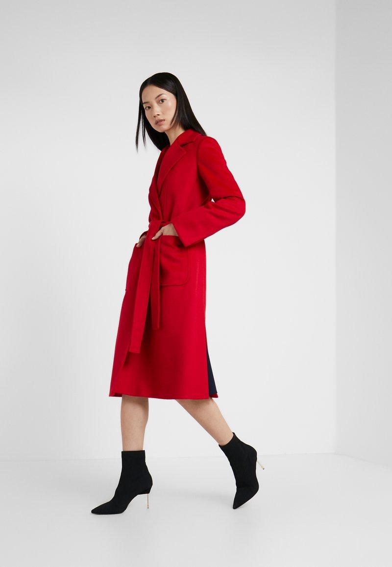 MAX&Co. - RUNAWAY - Płaszcz wełniany /Płaszcz klasyczny - burgundy