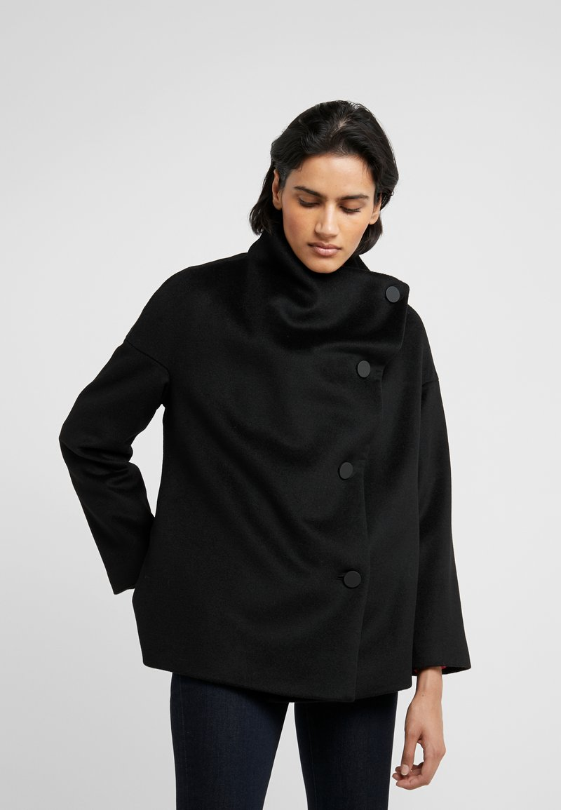 MAX&Co. - DINAMICO - Wollmantel/klassischer Mantel - black