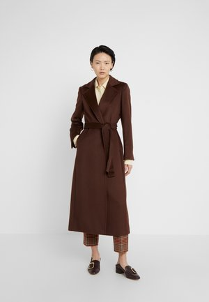LONGRUN - Classic coat - brown