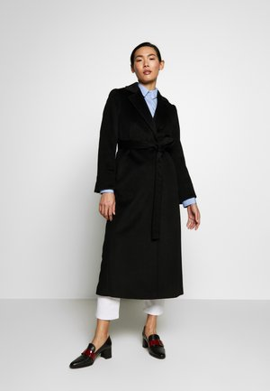 LONGRUN - Płaszcz wełniany /Płaszcz klasyczny - black