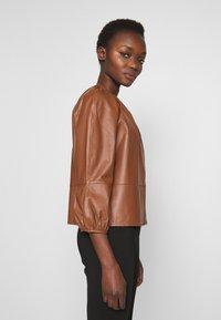 MAX&Co. - DEPONGO - Veste en cuir - brown - 3