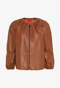 MAX&Co. - DEPONGO - Veste en cuir - brown - 4