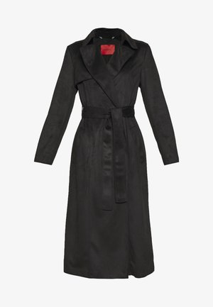 DISPOSTO - Trenchcoat - black