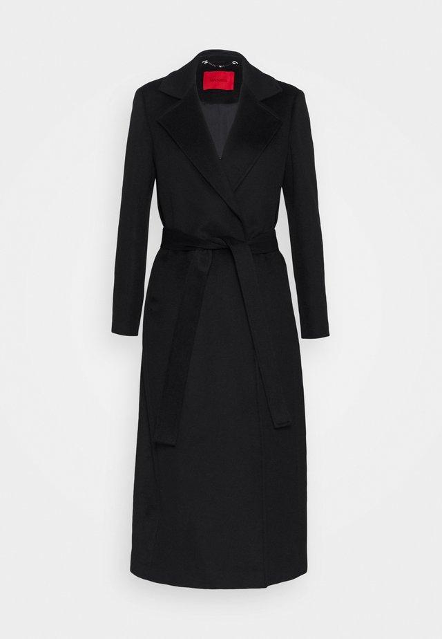 LONGRUN - Classic coat - black
