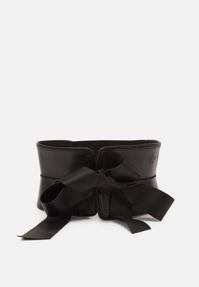 ADIBIRE - Ceinture taille haute - black