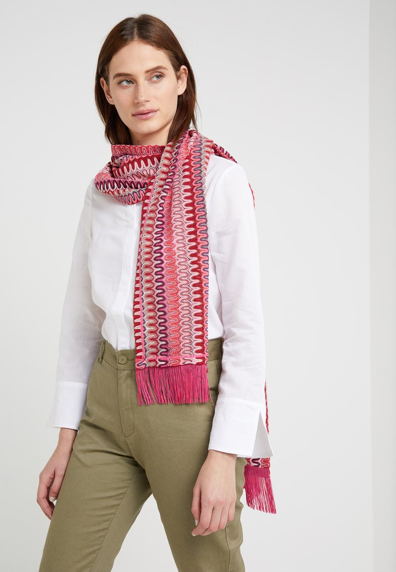 MAX&Co. - AVANA - Scarf - rose/pink/pattern