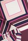 MAX&Co. - ABITATO - Šátek - wine graphic print