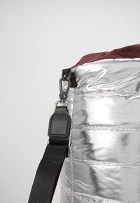 MAX&Co. - PILLOW - Shopping Bag - silver - 2
